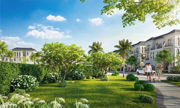 """Mua biệt thự Hướng Dương Vinhomes Star City Thanh Hóa được nhận ngay """"món quà"""" sinh thái đắt giá của chủ đầu tư."""