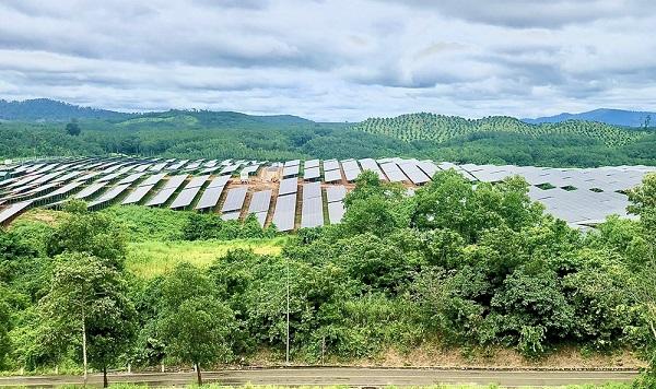 BIDV là ngân hàng phục vụ Dự án Nhà máy điện mặt trời Sê San 4