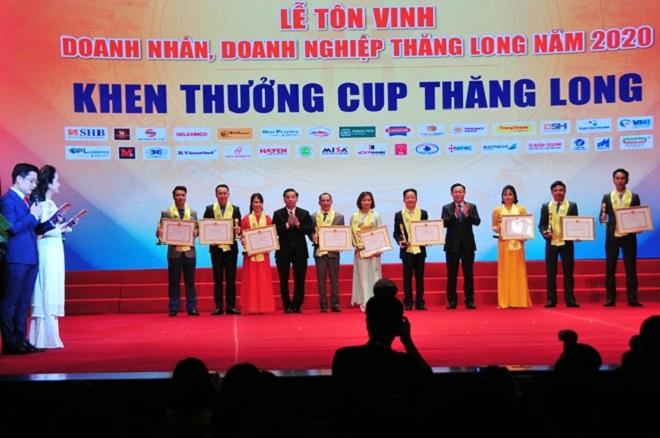 Lễ tôn vinh doanh nhân, doanh nghiệp Thăng Long 2020