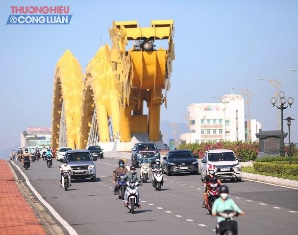 Người dân thành phố biển Đà Nẵng đã trở lại sinh hoạt bình thường