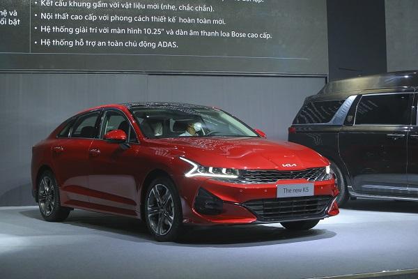 Kia K5 bất ngờ được Thaco giới thiệu tại thị trường Việt Nam
