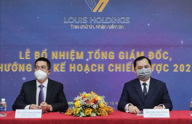 Louis Holdings tổ chức buổi họp báo công bố bổ nhiệm Phó Chủ tịch HĐQT thường trực kiêm Tổng Giám đốc đối với ông Nguyễn Mai Long.