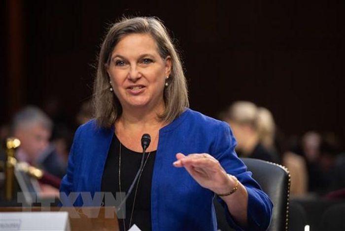 Thứ trưởng Ngoại giao Mỹ Victoria Nuland. (Ảnh: AFP/TTXVN)