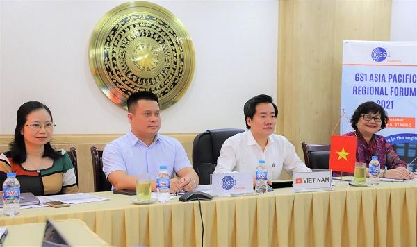 Phó Tổng cục trưởng Nguyễn Hoàng Linh, đại GS1 Việt Nam tham dự Diễn đàn GS1 Khu vực Châu Á - Thái Bình Dương năm 2021