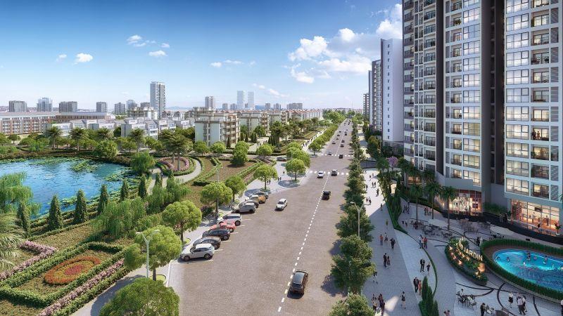 Quận Long Biên cảnh quan xanh mát, không gian thoáng đãng, giá cả hợp lý
