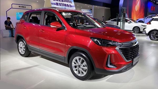 Baic Beijing X3 2021 sắp bán ở Việt Nam. Ảnh