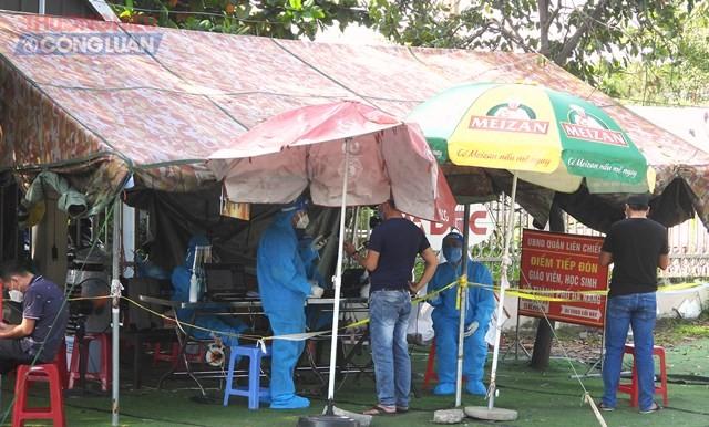 Chốt kiểm tra y tế phía Nam Hải Vân