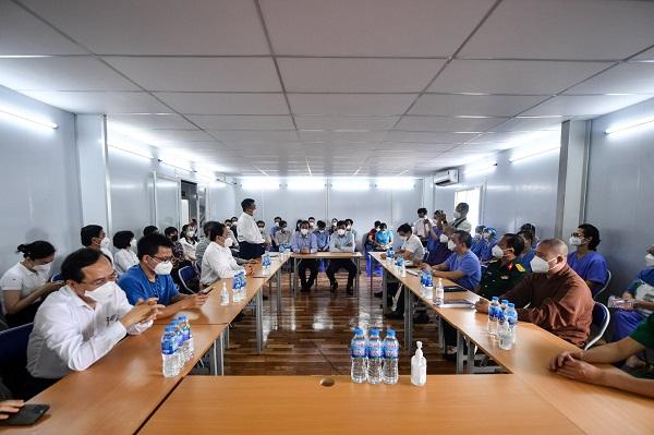 BV Hữu Nghị Việt Đức bàn giao ICU tại TPHCM cho BV ĐHYD HCM với sự chứng kiến của lãnh đạo TP HCM