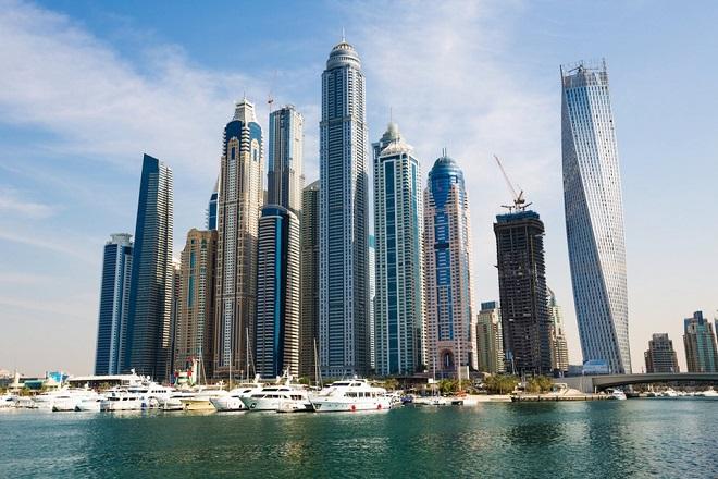 Dubai (Các tiểu Vương quốc Ả rập Thống Nhất): 148 tòa nhà chọc trời