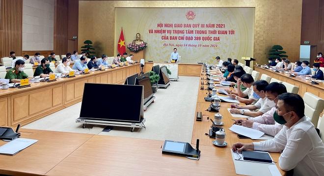 Phó Thủ tướng thường trực Phạm Bình Minh phát biểu chỉ đạo tại hội nghị