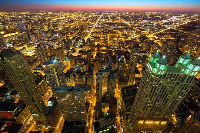 5. Chicago, Hoa Kỳ: 117 tòa nhà chọc trời