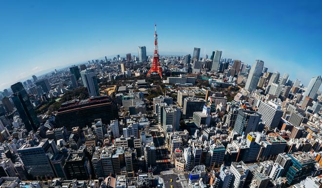 Tokyo (Nhật Bản): 114 tòa nhà chọc trời