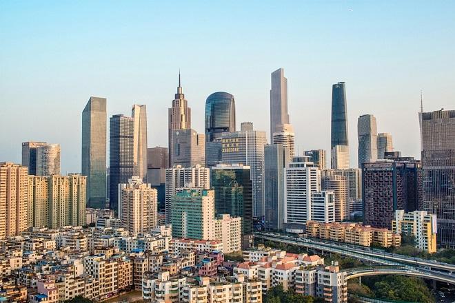 Quảng Châu, Trung Quốc: 93 tòa nhà chọc trời