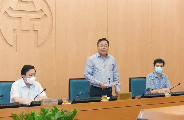 Phó Bí thư Thành ủy Hà Nội Nguyễn Văn Phong chủ trì phiên họp