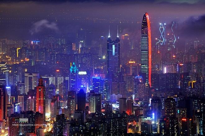 Thâm Quyến (Trung Quốc): 83 tòa nhà chọc trời