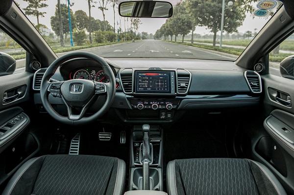 Nội thất Honda City phiên bản G