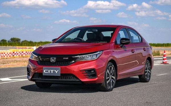 Ngoại thất Honda City phiên bản E