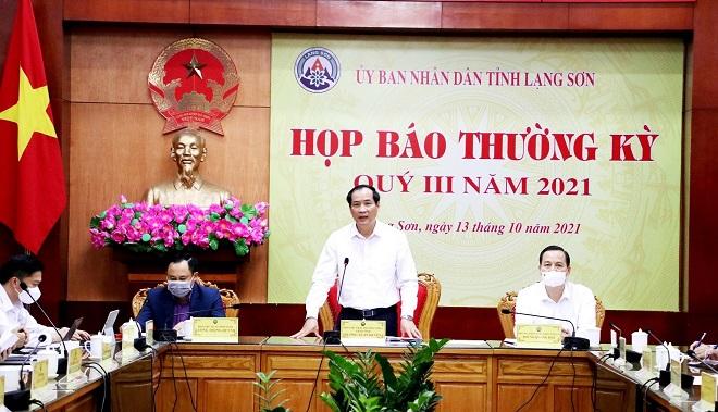 Phó Chủ tịch thường trực UBND tỉnh Lạng Sơn, Dương Xuân Huyên