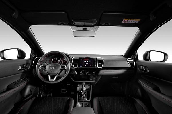 Nội thất Honda City phiên bản RS