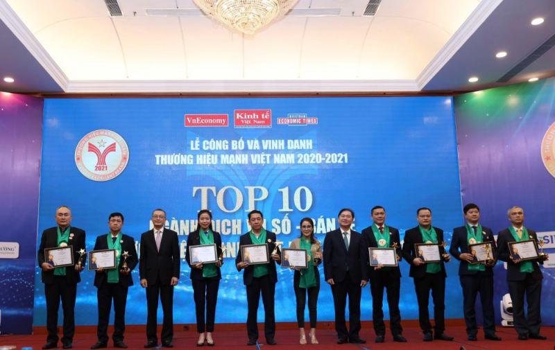 Vissan - Top 10 Thương hiệu Mạnh Việt Nam năm 2021