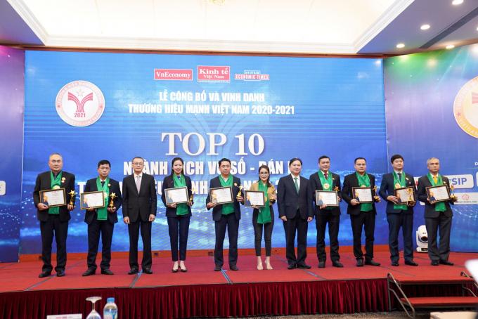 MobiFone - Top 10 thương hiệu mạnh Việt Nam 2020 - 2021